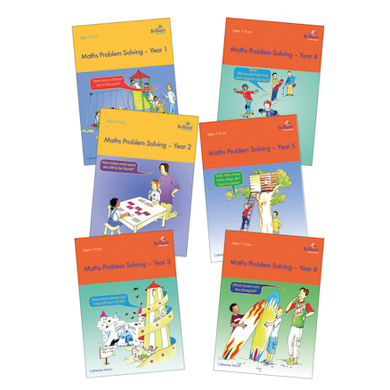 Maths Problem Solving Books  large