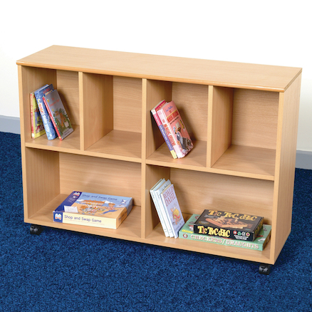 Wooden Curved Bookcases  large