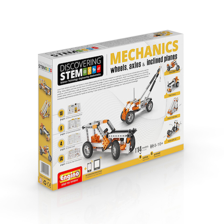 Wheels, axles \x26 Inclined planes: STEM Mechanics  large