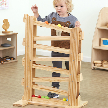 Natural Wooden Tower Slope  large