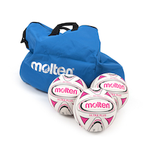 Molten Netballs with Bag 10pk  medium