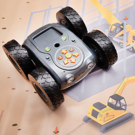 Construction Rugged Robot Mat  large