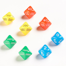 Thousands, Hundreds, Tens and Unit Dice 8pk  medium
