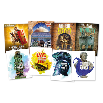 Past Civilisations Books 8pk  large