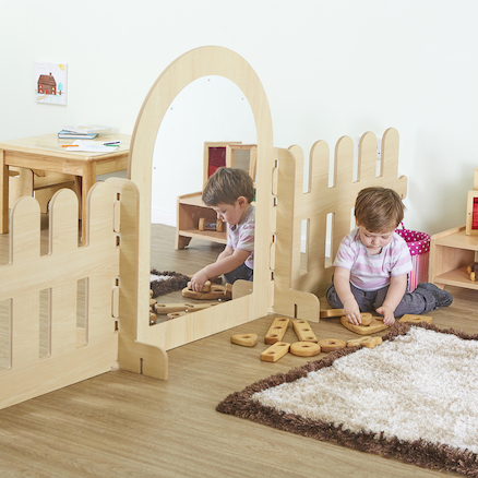Toddler Wooden Divider Panels  large