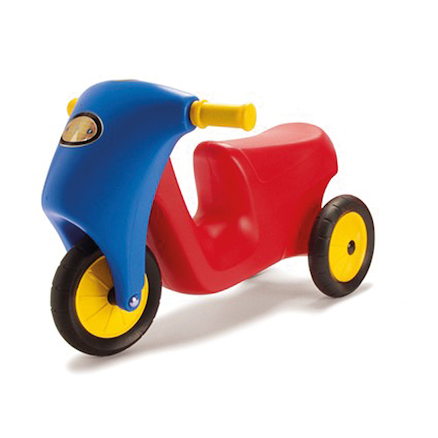 Rubber Wheeled Scooter  large