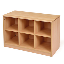 Room Scene Six Tray Storage Unit  medium