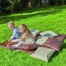 Outdoor Cushions and Mat  medium