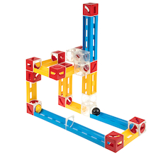 Track Marble Run 75pcs  medium
