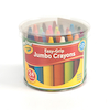 Crayola Mini Kids Jumbo Assorted Crayons 24pk  small