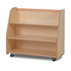 Playscapes Mobile Access Shelf With Back H80cm  small
