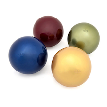 Marvellous Metallics Coloured Balls 4pk  medium