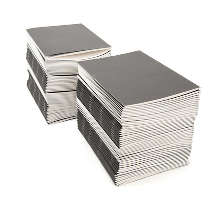 Black Stapled Sketchbooks 120gsm 100pk 40pgs A4  large