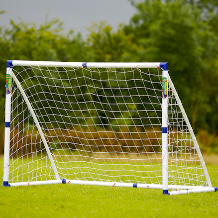 Multipurpose PVC Football Goal and Net 6ft  large
