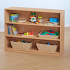 Classic Beech Three Shelf Bookcase  small