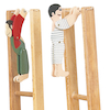 Victorian Swing Toys 33cm 2pk  small
