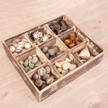 Tinker Tray with Natural Materials  medium