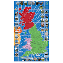 UK Landmarks Map  medium