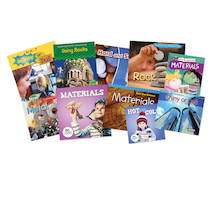 Early Years Exploring Material Book Pack 10pk  medium
