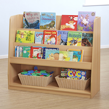 Fusion Tiered Book Storage Unit  medium