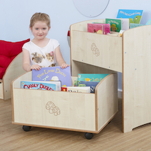 Toddler Two Piece Book Unit  medium