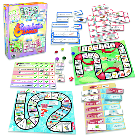 Comprehension Skills Games 6pk  large