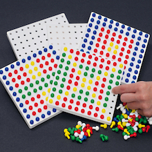 Colourful Peg Boards Pack  medium