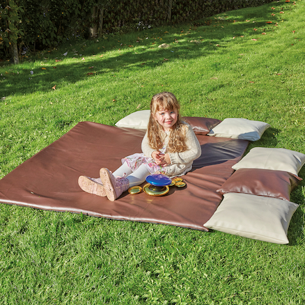 Outdoor Cushions and Mat  large