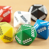 10 Sided Polyhedral Dice 50pk  small