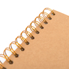 140gsm Kraft Cover Spiral Sketchbook 200mm Square  small