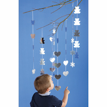 Sparkly Decorative Mirrored Mobile Collection  medium