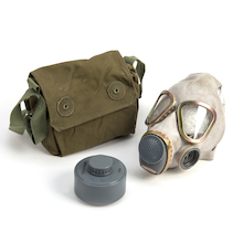 War Gas Mask and Bag  medium