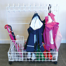 Indoor Toddler Cloakroom Trolley  medium
