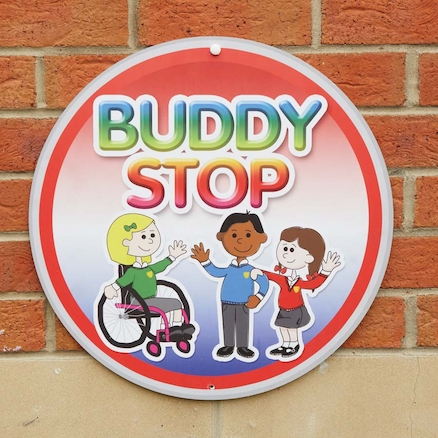 Buddy Stop Playground Sign  large
