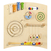 Wooden Learning Wall Manipulative Panels  small