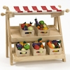 Small Wooden Role Play Market Stall  small