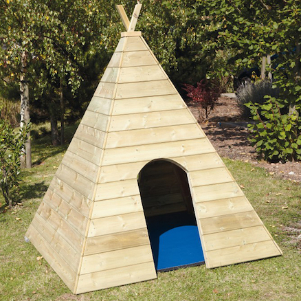 Terrific Wooden Teepee W150 x D150 x H165cm  large