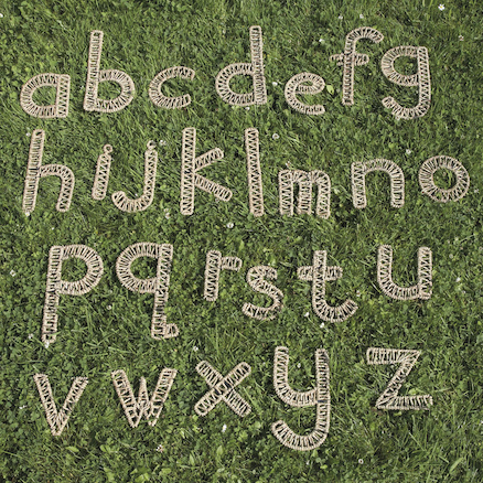 Weaving Alphabet A\-Z  large