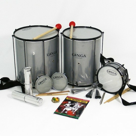 Ginga Samba Instruments 10pk  large