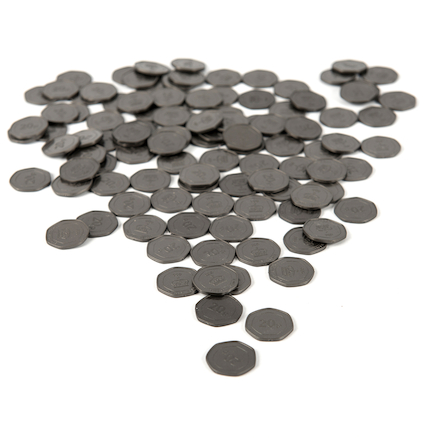 Twenty Pence Coin 100pcs  large