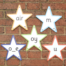 Phonics Outdoor 44 Sounds Stars  medium