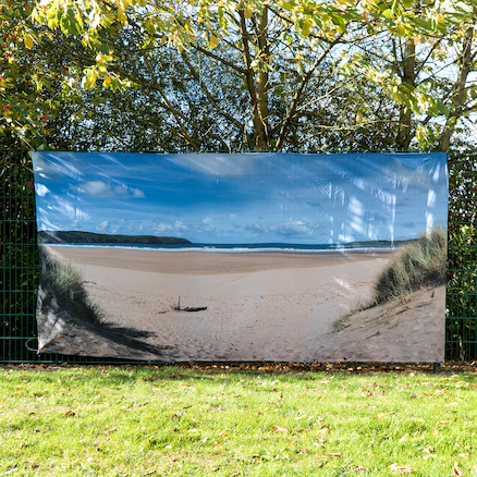 Outdoor Immersive Environment Backdrop Beach  large