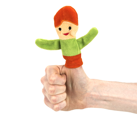 Thumbody Self Esteem Finger Puppet  large