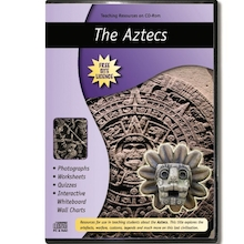 The Aztecs Teaching Resources CD ROM  medium