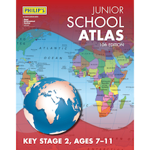 Philip's Junior School Atlas KS2  medium