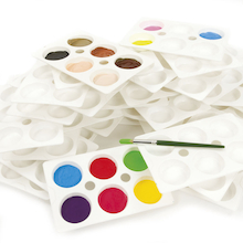 Plastic Paint Palettes  medium