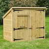 Outdoor Wooden Storage and House W1.8 x H1.5m  small