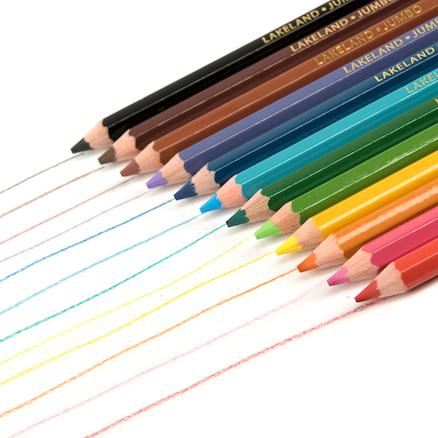 Buy Lakeland Jumbo Colouring Pencils Assorted 12pk | TTS