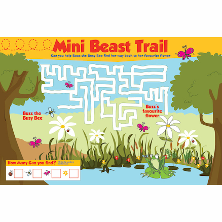 Mini Beast Trail Playground Sign  large