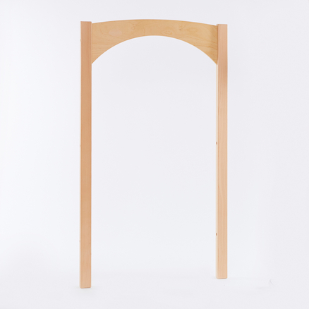 Essentials Indoor Natural Wooden Archway  large